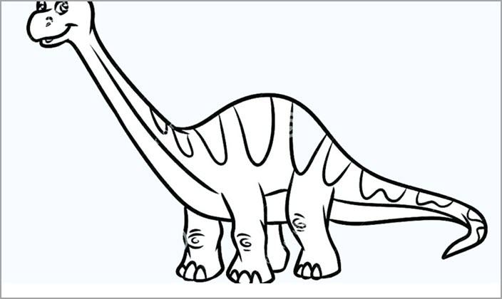 Tranh tập tô khủng long cho bé