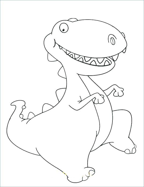 Tranh tập tô khủng long dễ thương