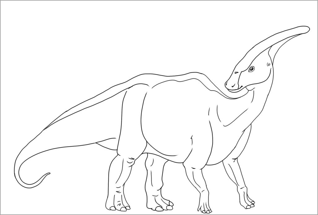 Tranh tập tô màu chủ đề khủng long