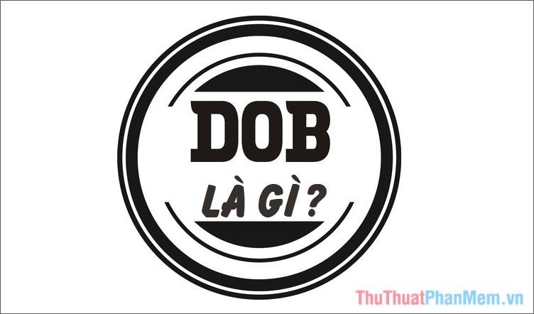 DOB là gì Ý nghĩa của từ D.O.B trong tiếng Anh