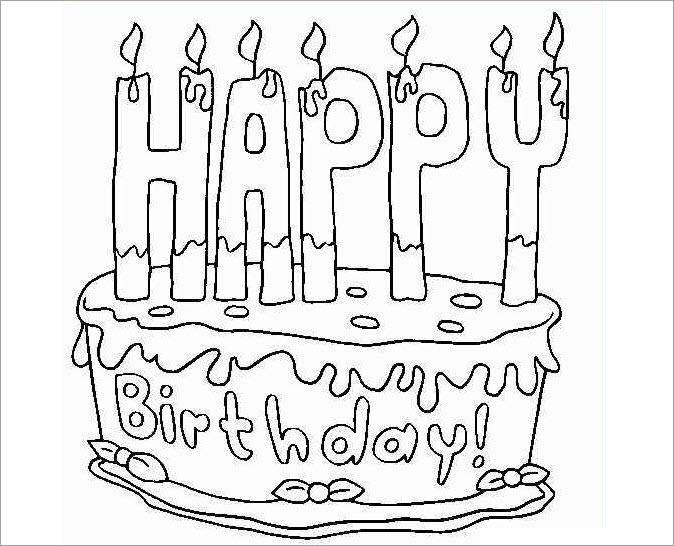 Hình tập tô bánh sinh nhật