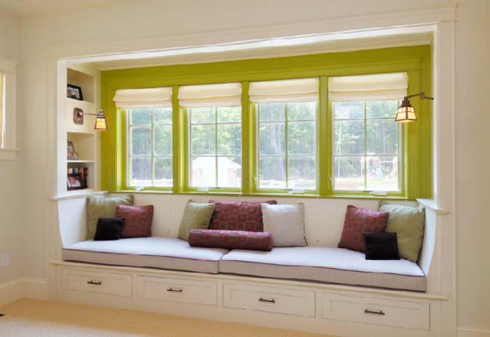 Những mẫu cửa sổ phòng khách đẹp