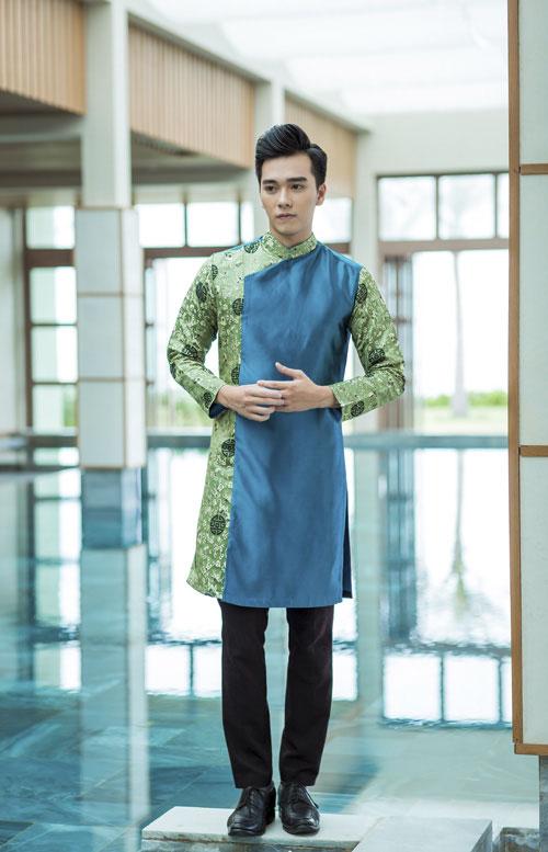 Áo dài cách tân cho nam giới đẹp nhất