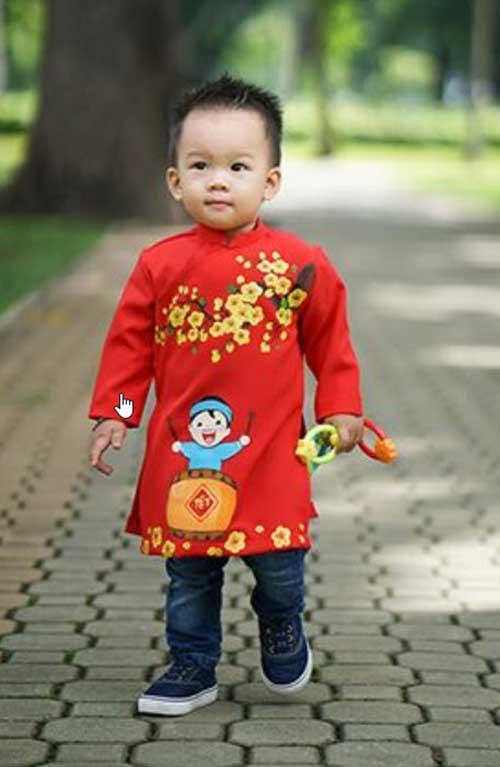 Áo dài cách tân trẻ em