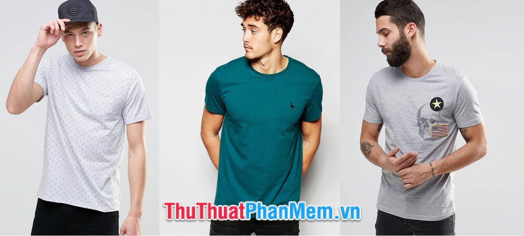 Chọn size áo nam dựa vào chiều cao và cân nặng người mặc