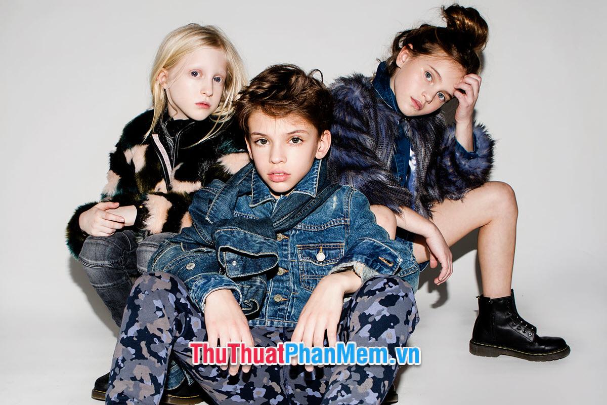 Chọn size quần áo cho trẻ từ 1 đến 16 tuổi