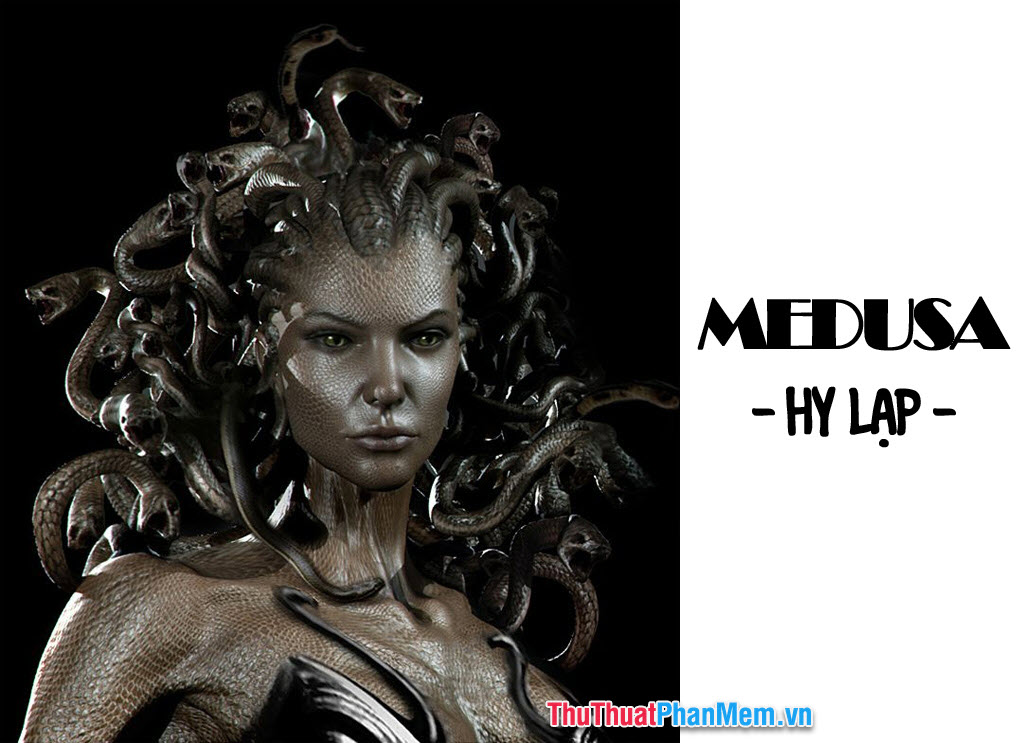 Medusa - vị nữ thần rắn