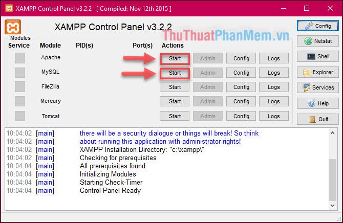 XAMPP là gì? Hướng dẫn tải, cài đặt và sử dụng XAMPP trên Localhost