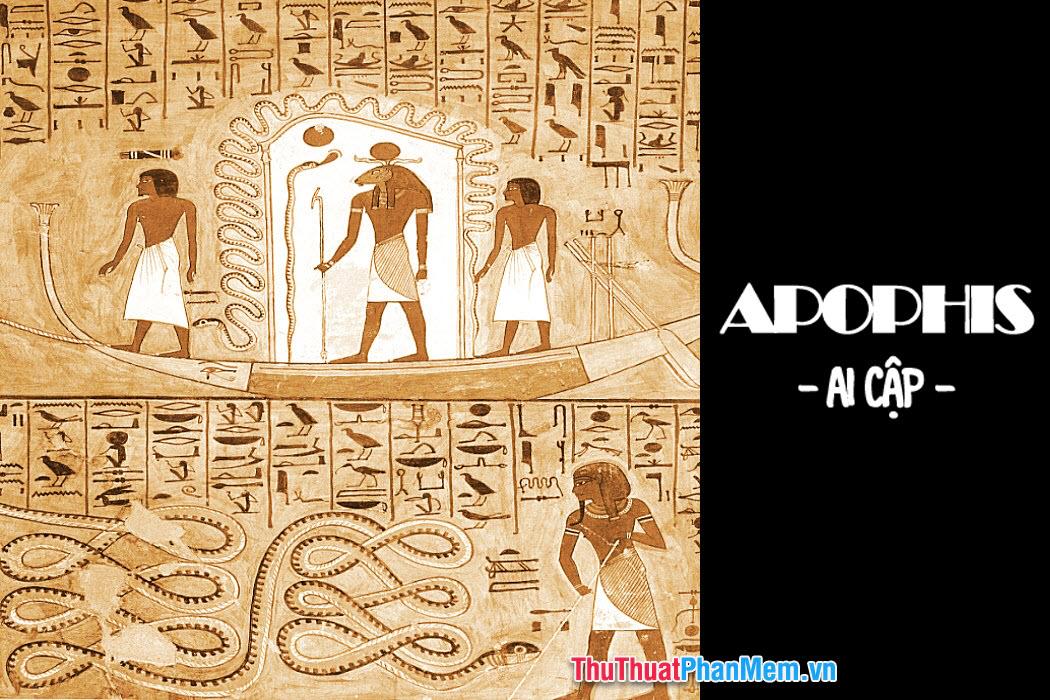 """Rắn """"thần"""" được biết tới sớm nhất ở Ai Cập"""