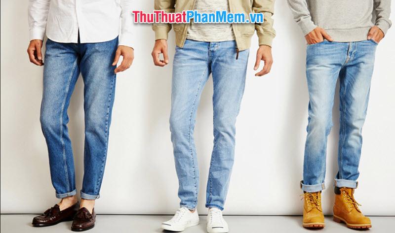 Size quần jean nam