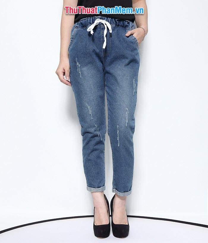 Size quần jean nữ