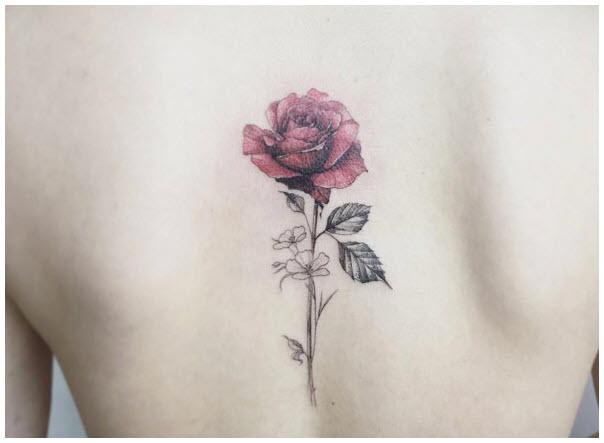 Ảnh hình xăm hoa hồng