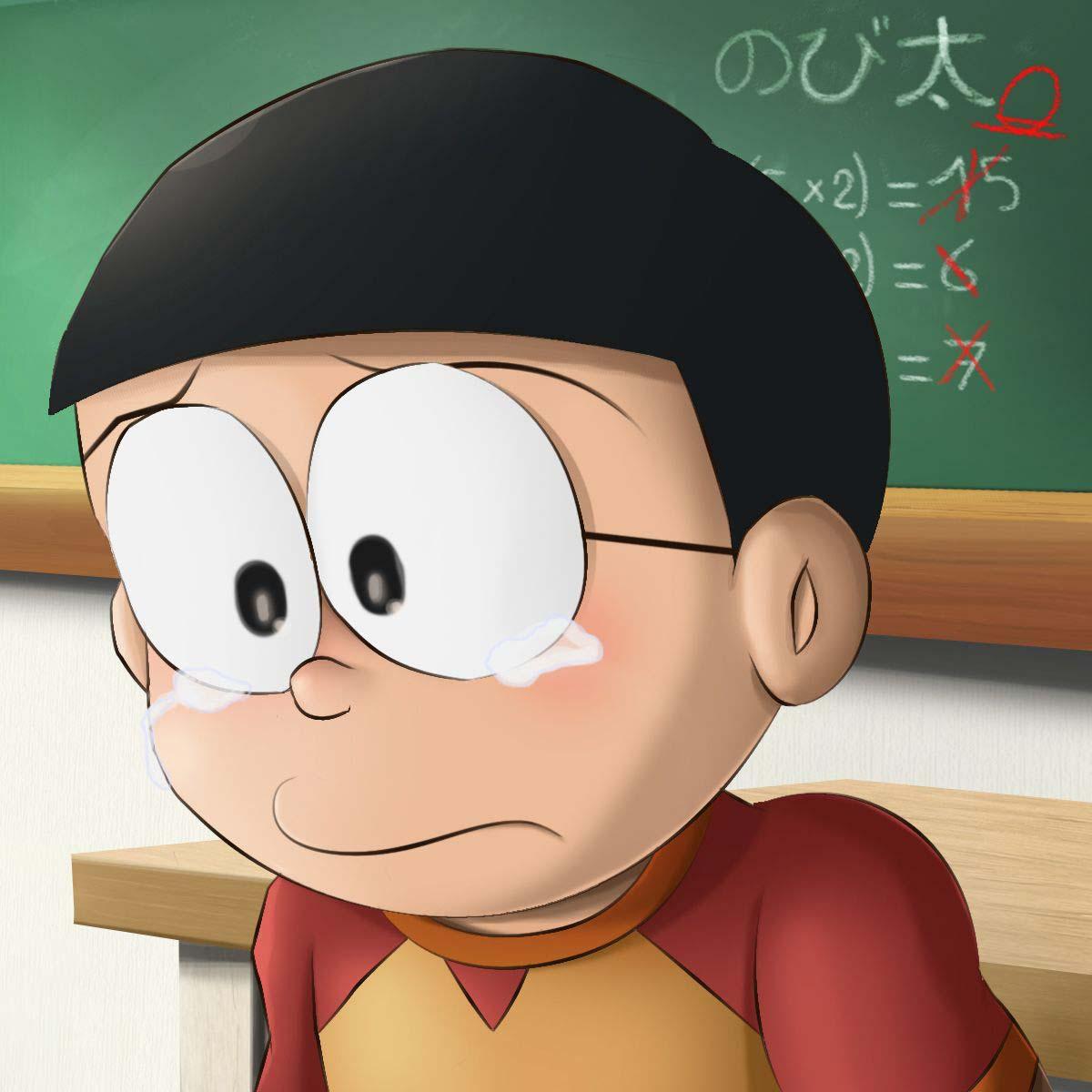Ảnh nobita buồn đẹp nhất