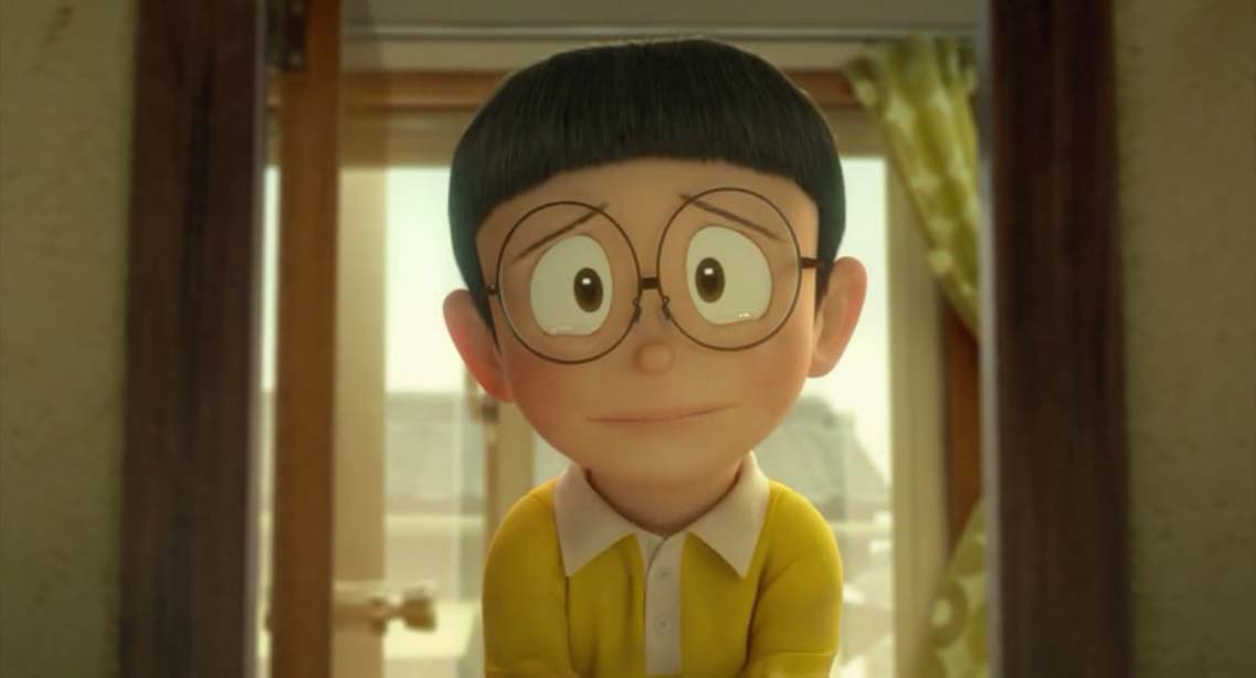 Ảnh nobita buồn