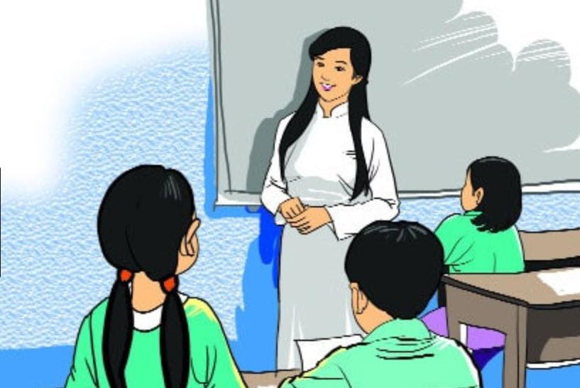 Bộ sưu tập tranh vẽ về đề tài học tập của học sinh