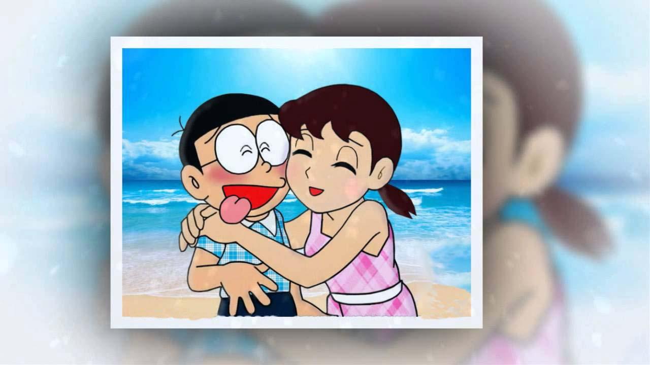 Hình ảnh đẹp nobita và xuka