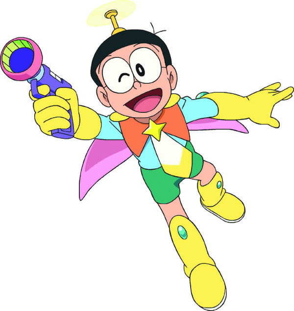 Hình ảnh nobita anh hùng