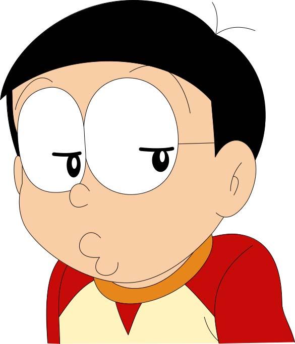 Hình ảnh nobita buồn