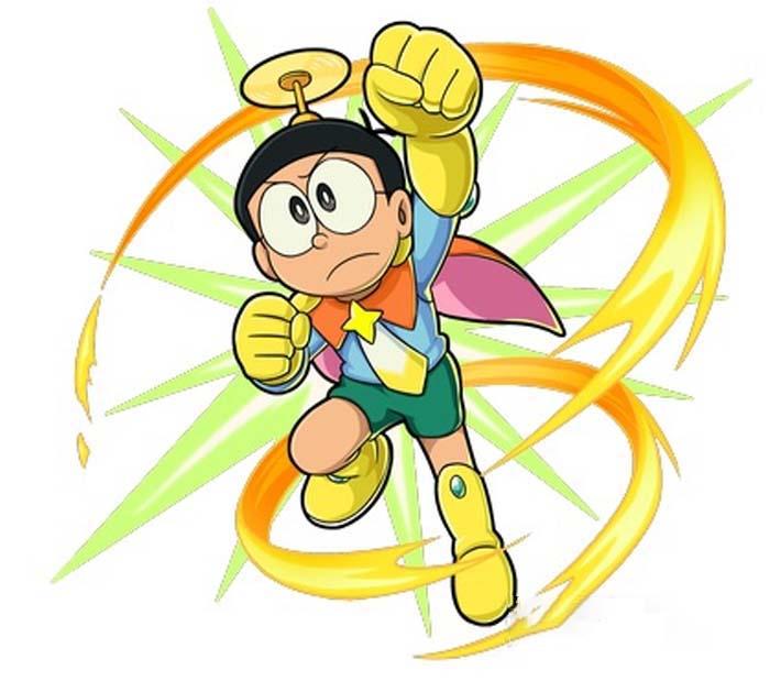 Hình ảnh nobita siêu nhân