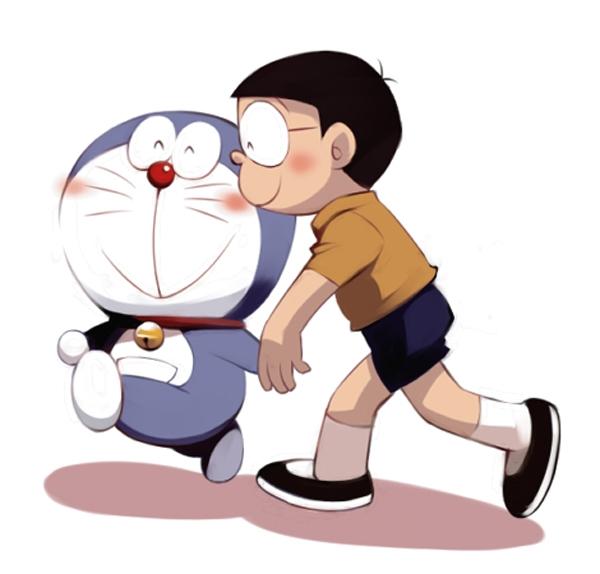 Hình ảnh nobita và doremon