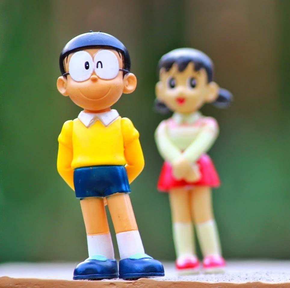 Hình ảnh nobita và xuka đẹp