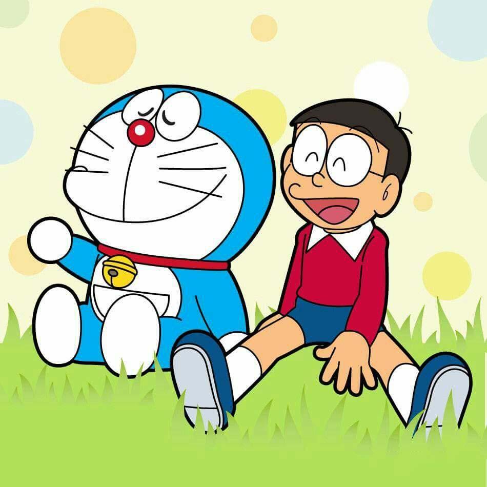 Hình ảnh nobita với doremon