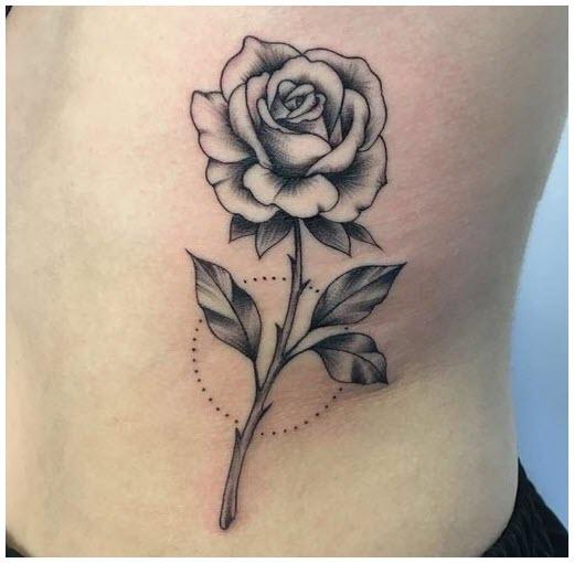 Hình xăm hoa hồng đẹp nhất (2)