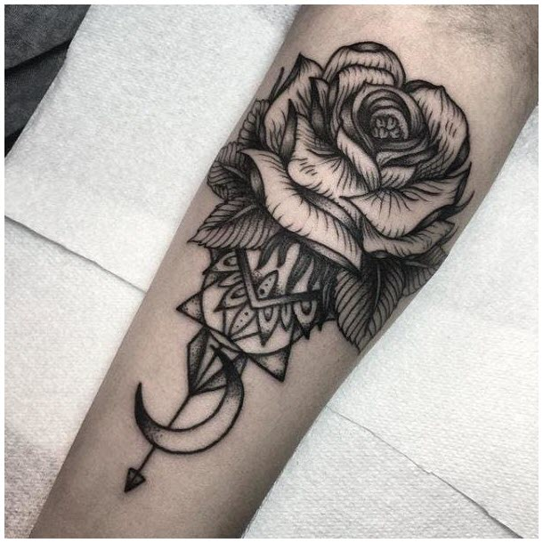 Hinh xăm hoa hồng đẹp nhất