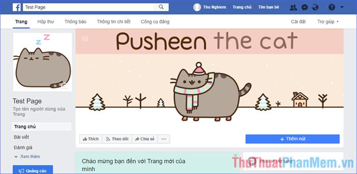 Hoàn tất việc tạo một Fanpage (trang) Facebook cho riêng mình