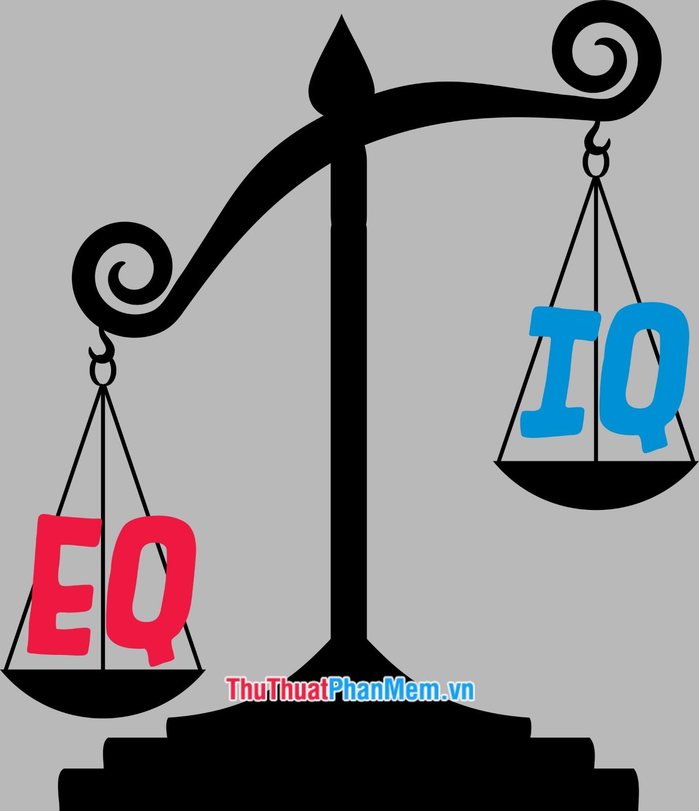Mức độ quan trọng giữa IQ và EQ