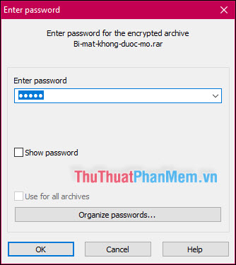 Nhập mật khẩu để truy cập