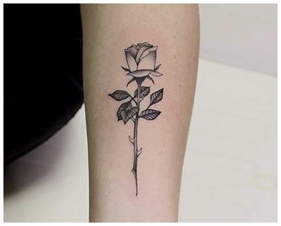 Xăm hình hoa hồng