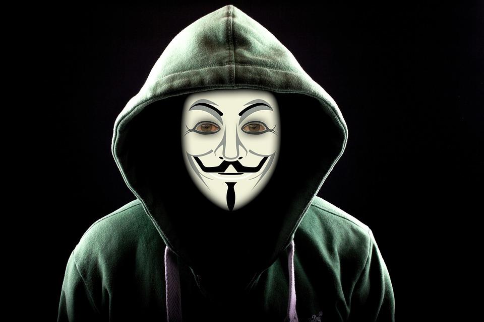 Hình ảnh hacker anonymous