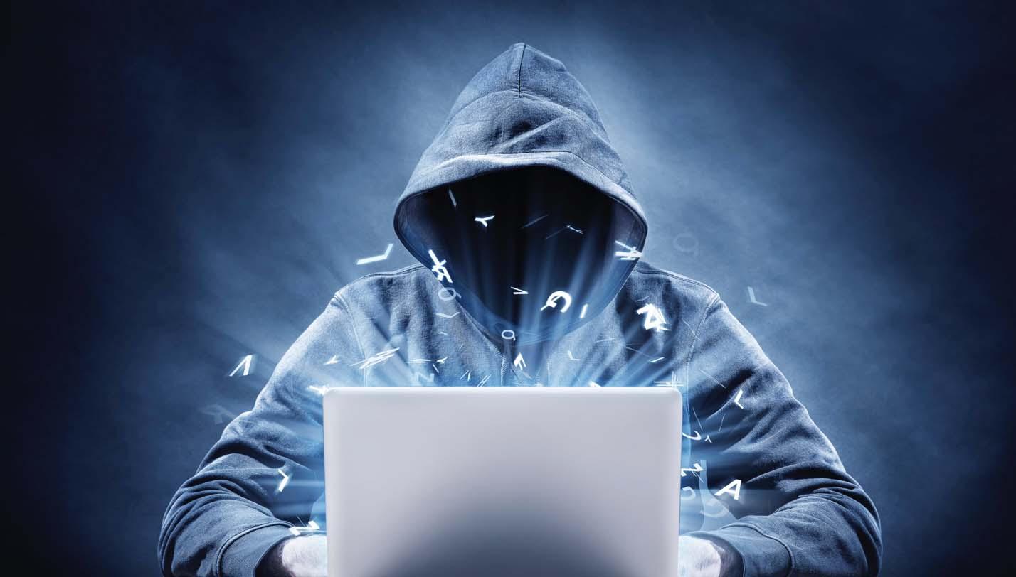 Hình ảnh hacker mũ trắng
