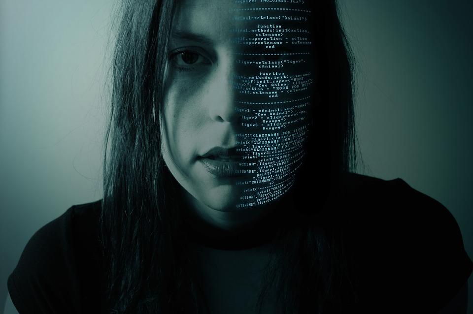 Hình ảnh hacker nữ
