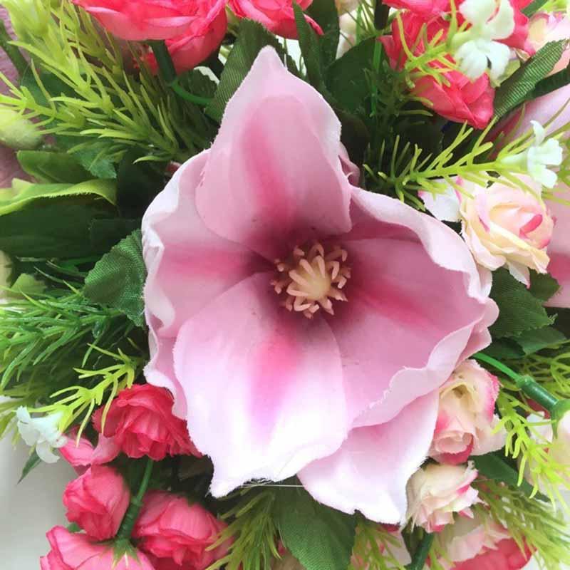 Hình ảnh vòng hoa treo tường hoa ngọc lan