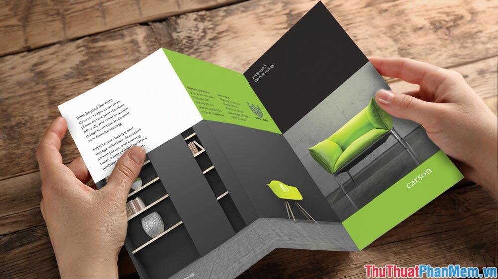 Brochure như một đứa con cưng của các designer làm marketing