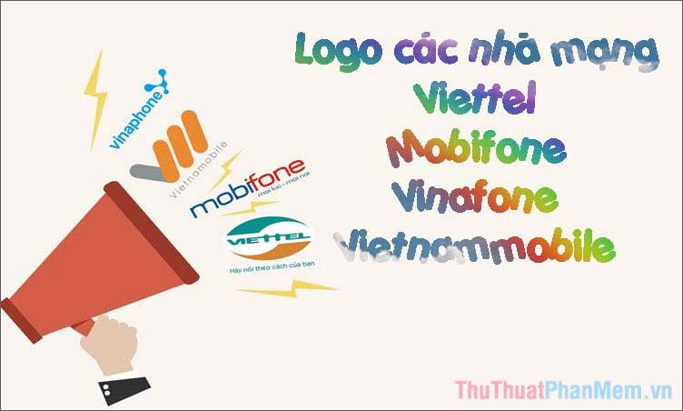 Logo Viettel, Mobifone, Vinaphone, Vietnamobile