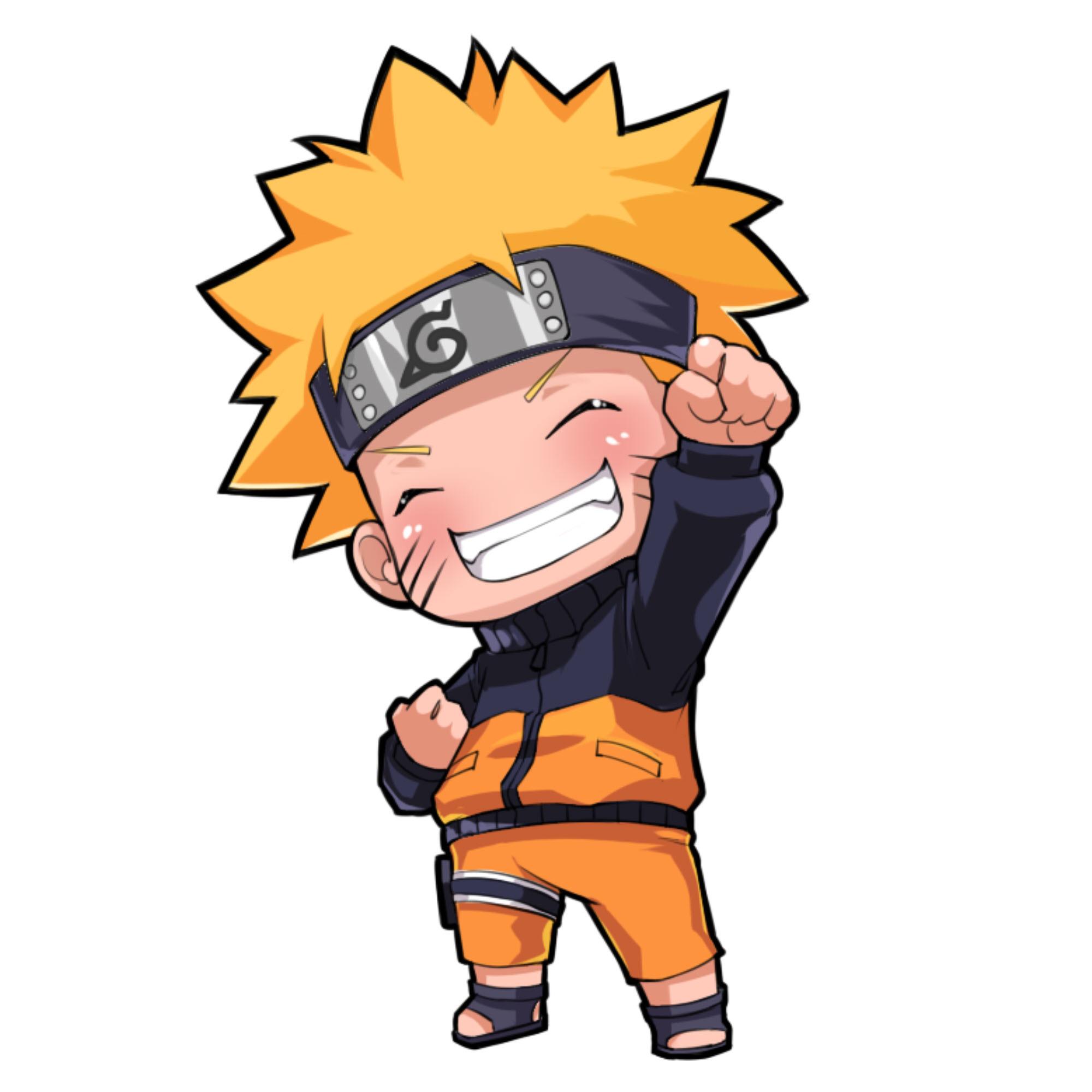 Ảnh Naruto bé bỏng đẹp