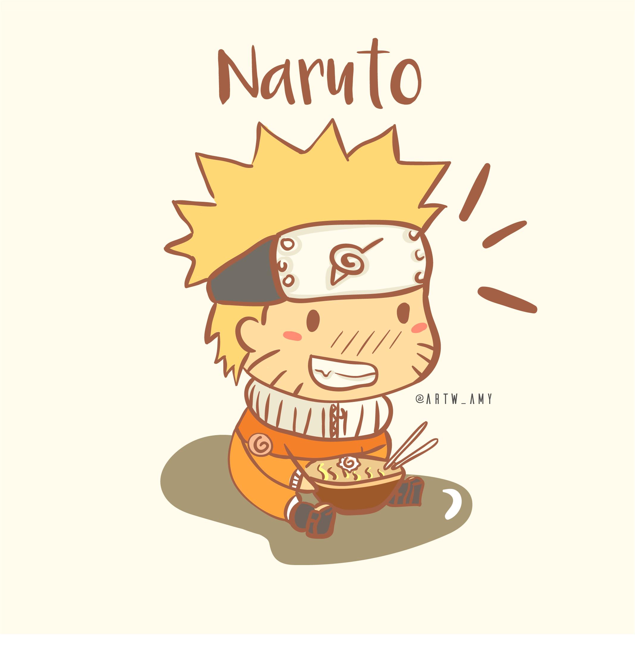 Ảnh Naruto bé bỏng
