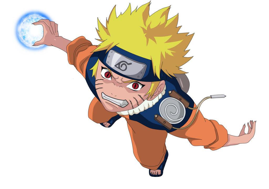 Ảnh Naruto chibi đánh nhau