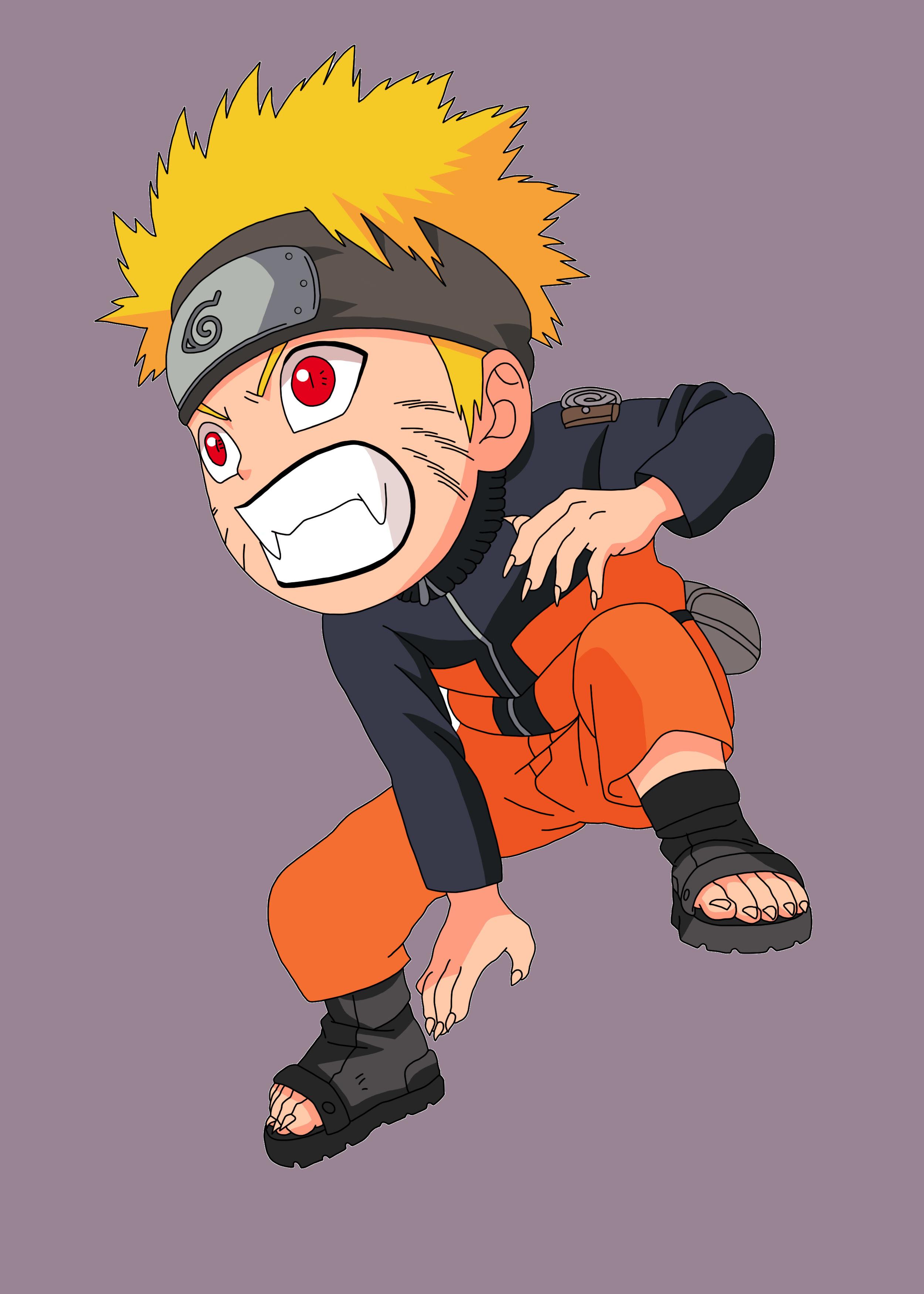 Ảnh Naruto đánh nhau