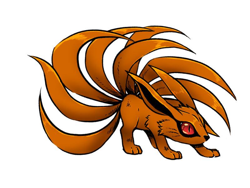 Ảnh Naruto hồ ly chín đuôi