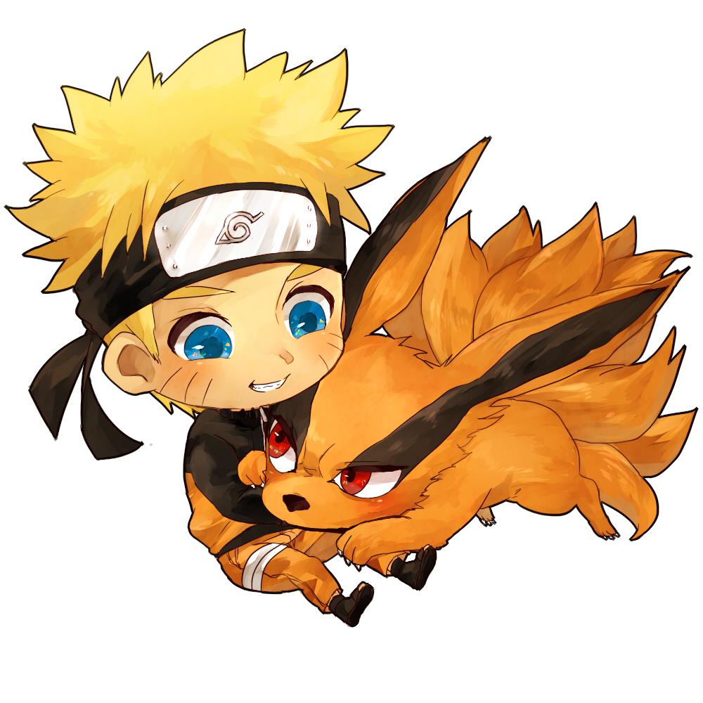 Ảnh Naruto và hồ ly