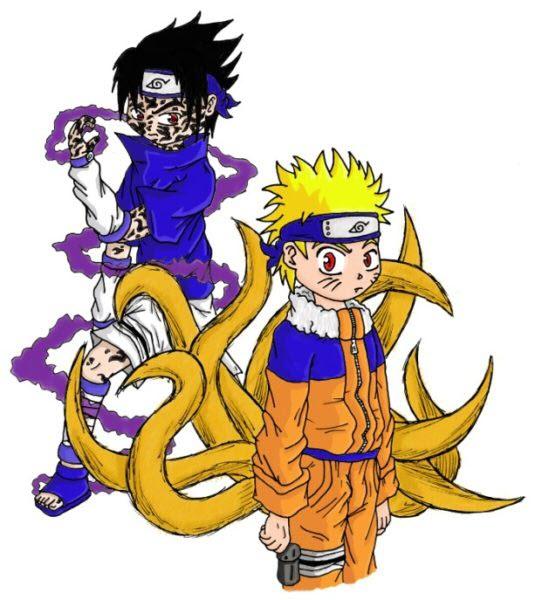 Ảnh Naruto và Sasuke đẹp