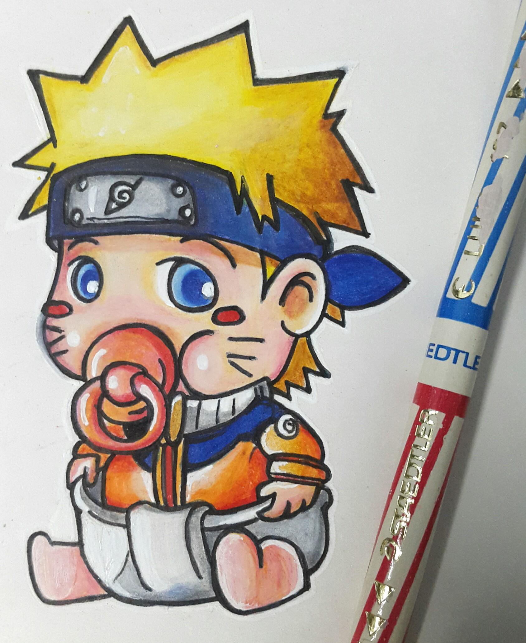 Ảnh vẽ Naruto