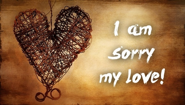 Ảnh xin lỗi người yêu
