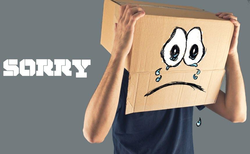 Ảnh xin lỗi