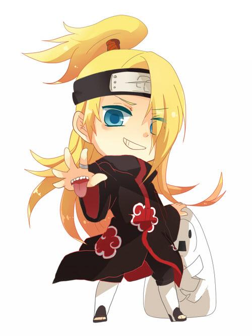 Chibi Naruto dễ thương