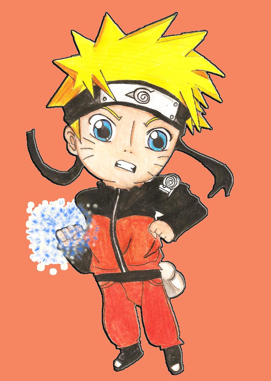 Chibi Naruto tuyệt đẹp